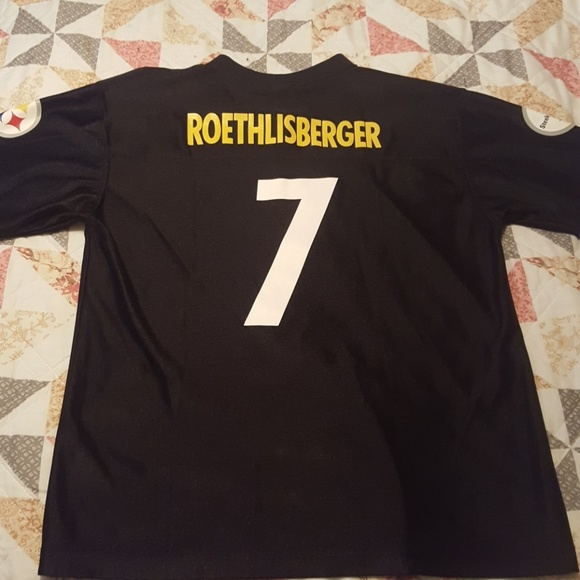 pittsburgh steelers ben roethlisberger jersey